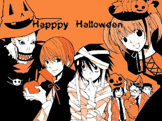 Anime Freak Halloween Wallpaper