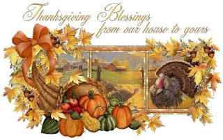 Elegant Thanksgiving Wishes Card