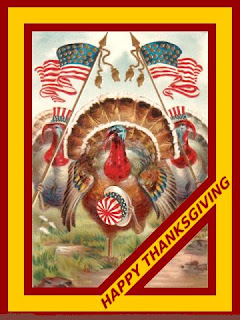 Patriotic Thanksgiving Ecards