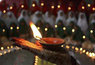 Hindu Diwali Celebration Wallpaper