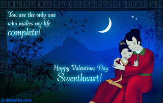 beautiful valentine card