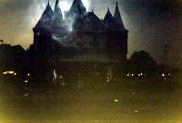 animated scary haunted house wallpapers