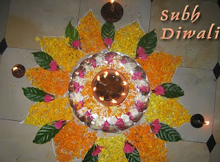 Floral Diwali Wishes