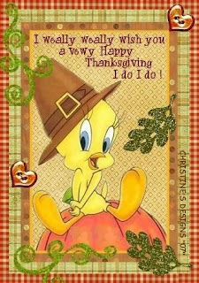Happy Thanksgiving Tweety Wishes