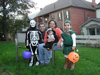 family photo halloween