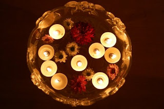 Diwali Floating Candle Cards