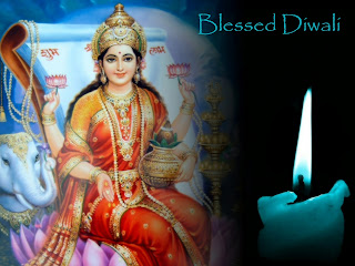 holy diwali blessings wallpaper