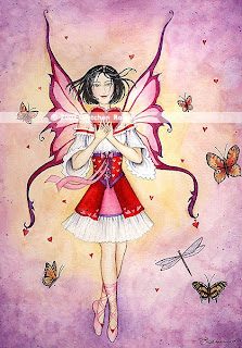 Valentine Fairy Greeting Cards