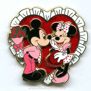 Mickey And Minnie Valentines Day Cards