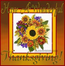 Bouquet Thanksgiving Cards