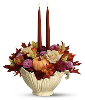 Thanksgiving flower Bouquet cards