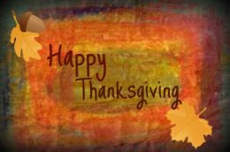 assorted collection of thanksgiving cards