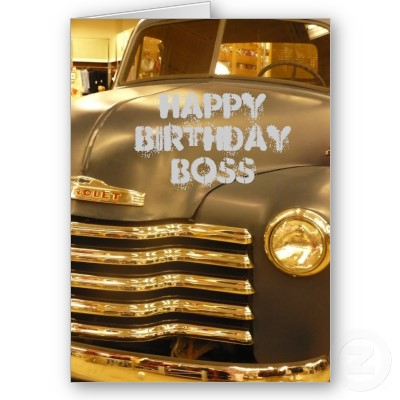 warm wishes, we are adding these special segment of Boss Birthday Cards