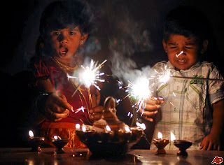 Diwali Children Cards