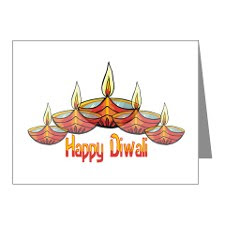 Diwali Note Cards