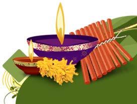 Diwali Pataka Cards