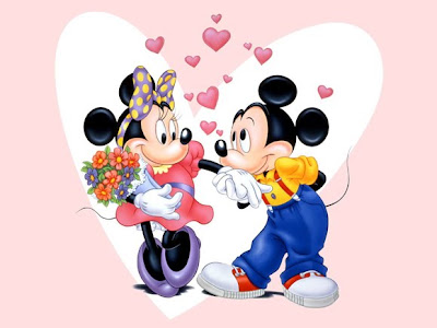 disney mickey mouse valentine card