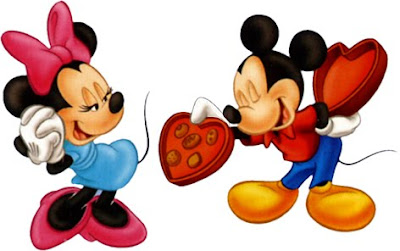 mickey minnie mouse valentine card