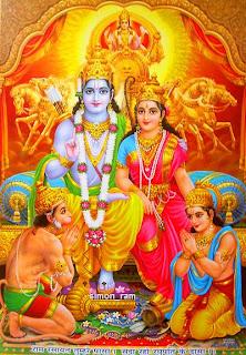 Religious Deity Diwali Cards