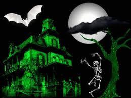 Halloween Dancing Skeleton Wallpapers