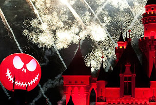 disneyland halloween fireworks