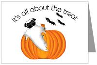 Halloween Pug Cards