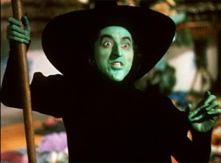 ugly green faced witch