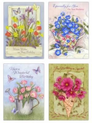 Birthday Greeting Cards: Assorted Birthday Cards