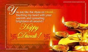 diwali couple wish card