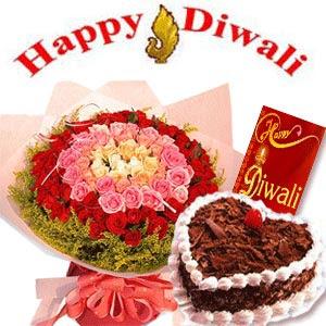 Diwali Floral Greetings