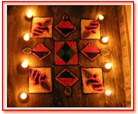 rangoli diya diwali wishes