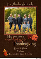 custom thanksgiving photo wishes