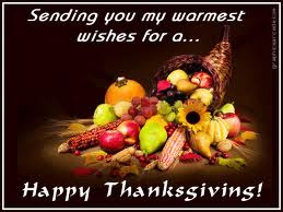 Elegant Thanksgiving Wishes