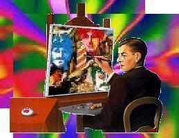 Artwork 48: Bunte Psychedelic