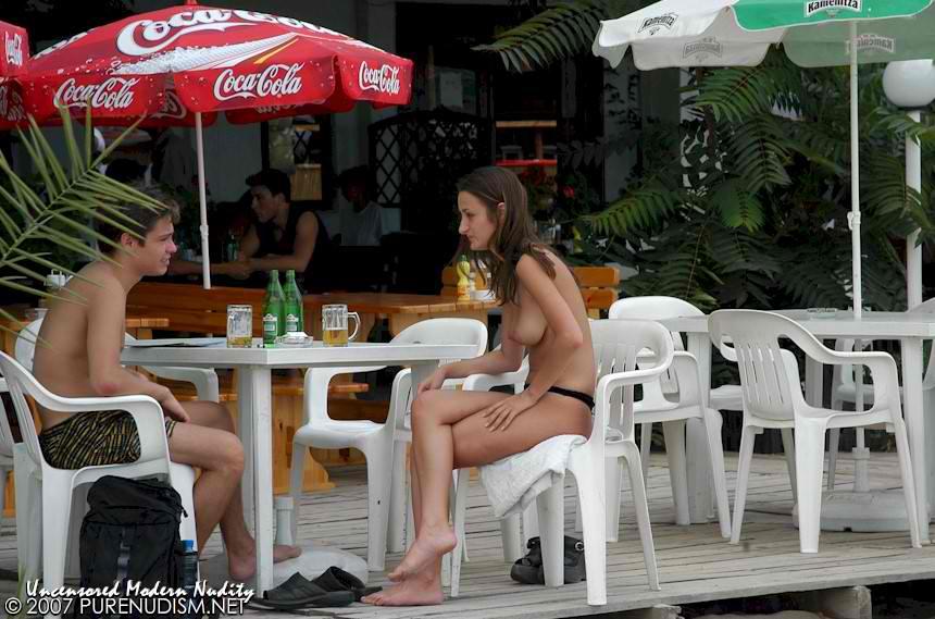 Nude Beach Resort Full View