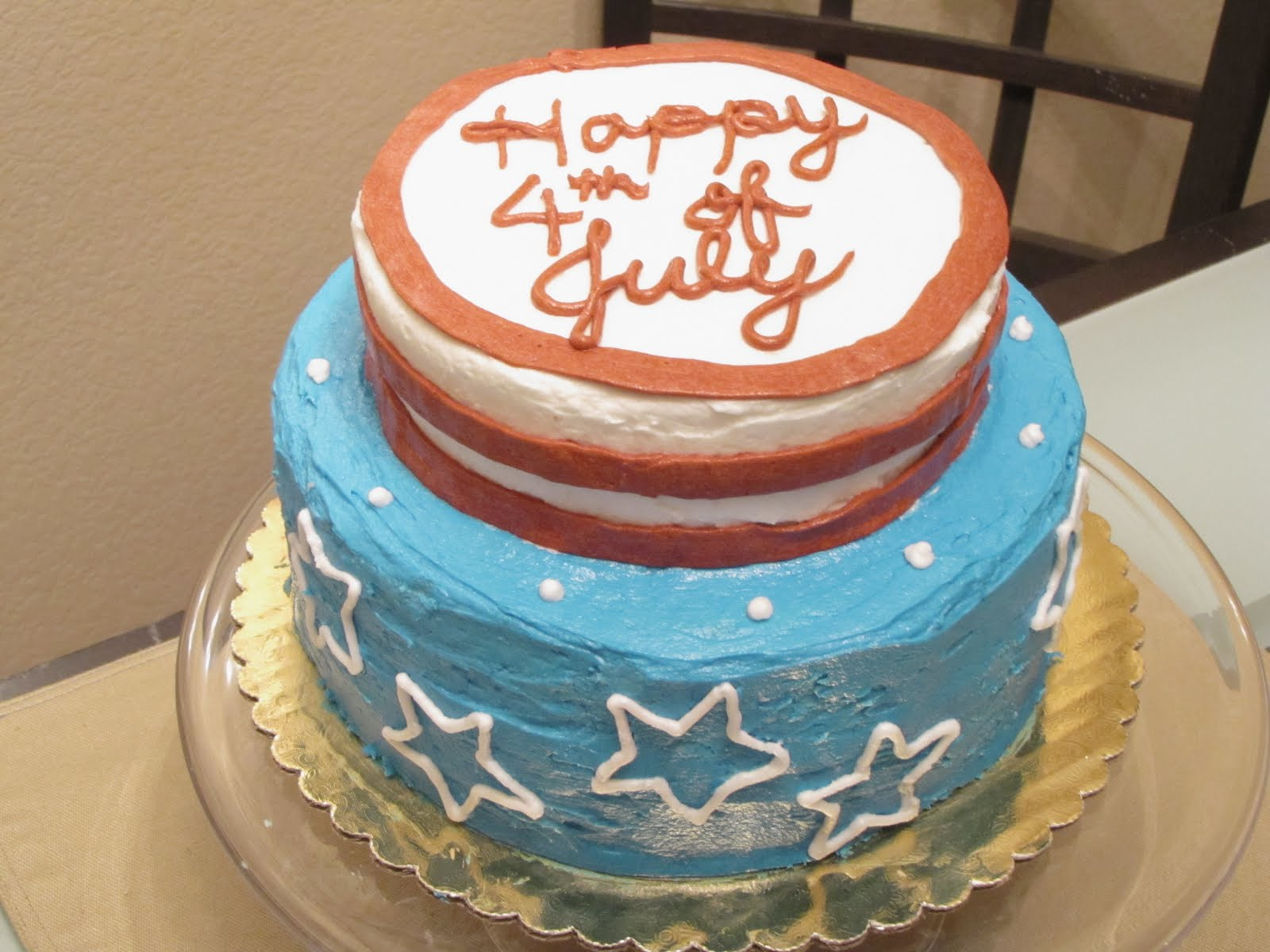 Tickle Cake Adventures In Cake Art Happy Birthday America