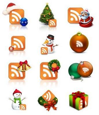 Новогодние иконки RSS