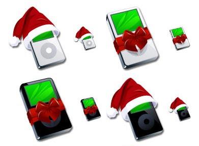 iPod новогодний