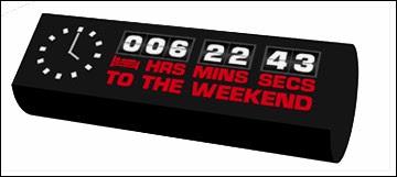 Weekend Clock
