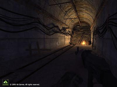 Метро 2033. Скриншот: Туннель