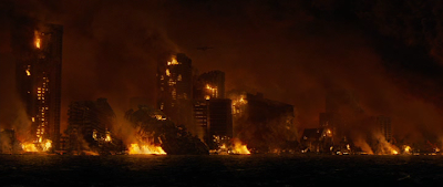 Кадр из фильма 2012: извержение вулкана, Гавайи в огне