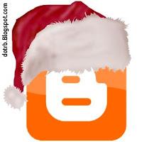 Новогодняя шапка Blogger