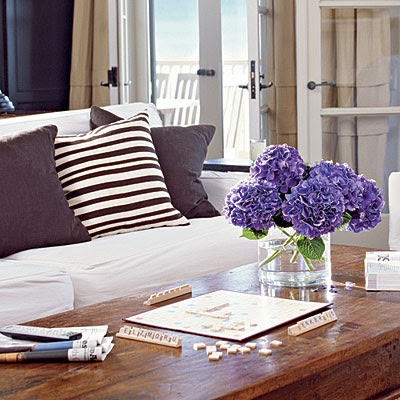 Interior Press: My Style: Coastal shabby chic meets all white with