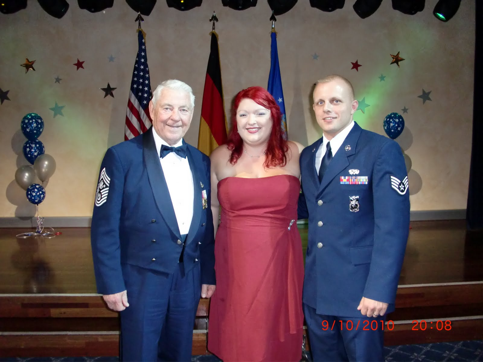 A Rockabilly Mom Cooks \'N Crafts: Air Force Ball 2010