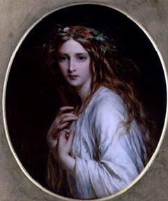 Ofelia. Dicksee (1861)