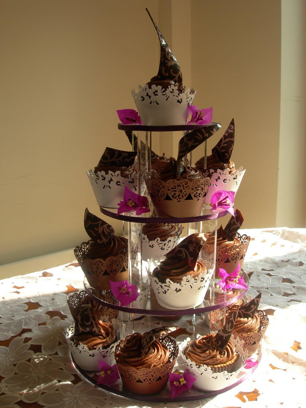 Custom Cake Designs Uk : Custom Cake Design: Chocolate Swirl Tower