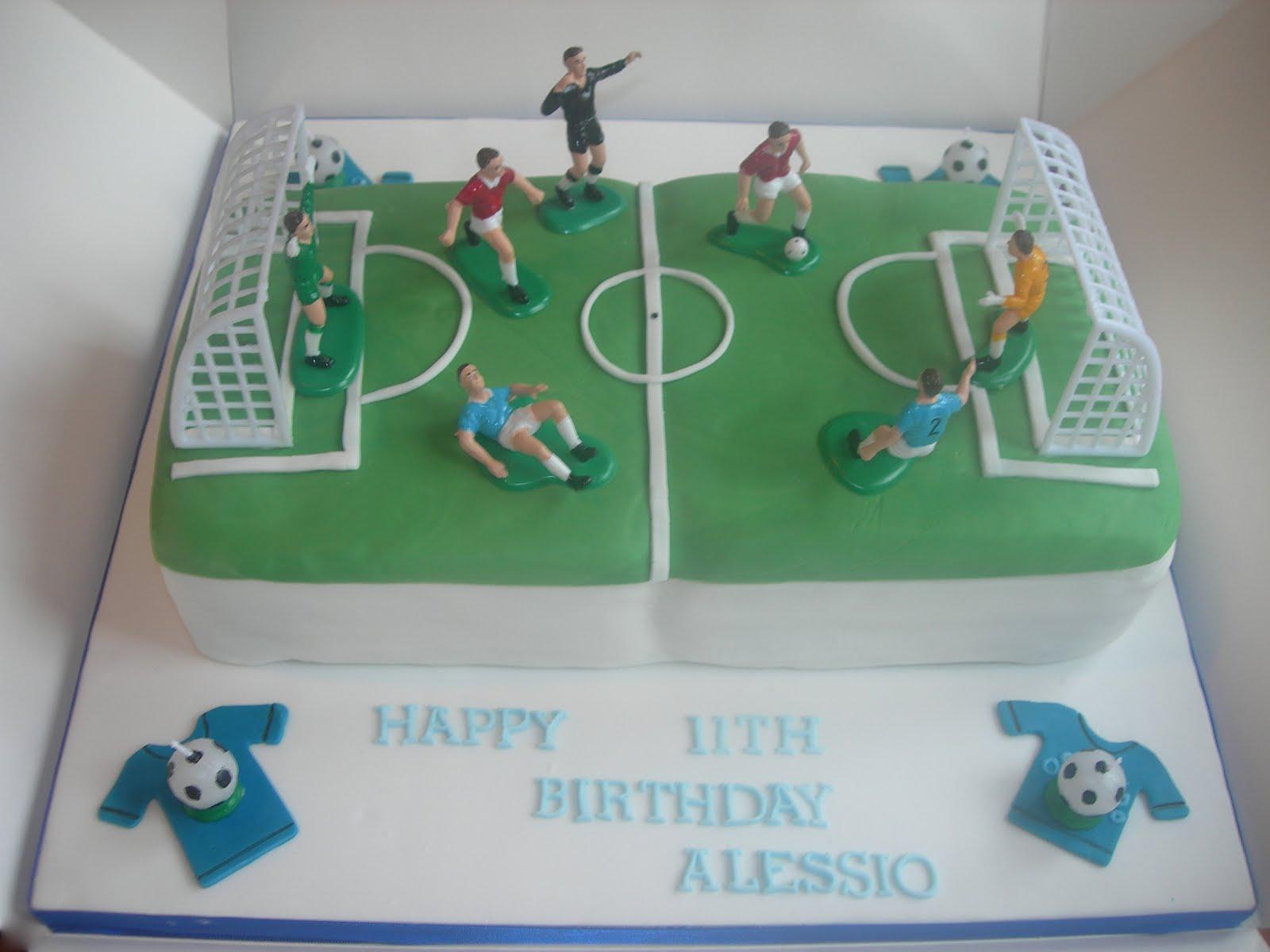 Custom Cake Designs Uk : Custom Cake Design: Football cake