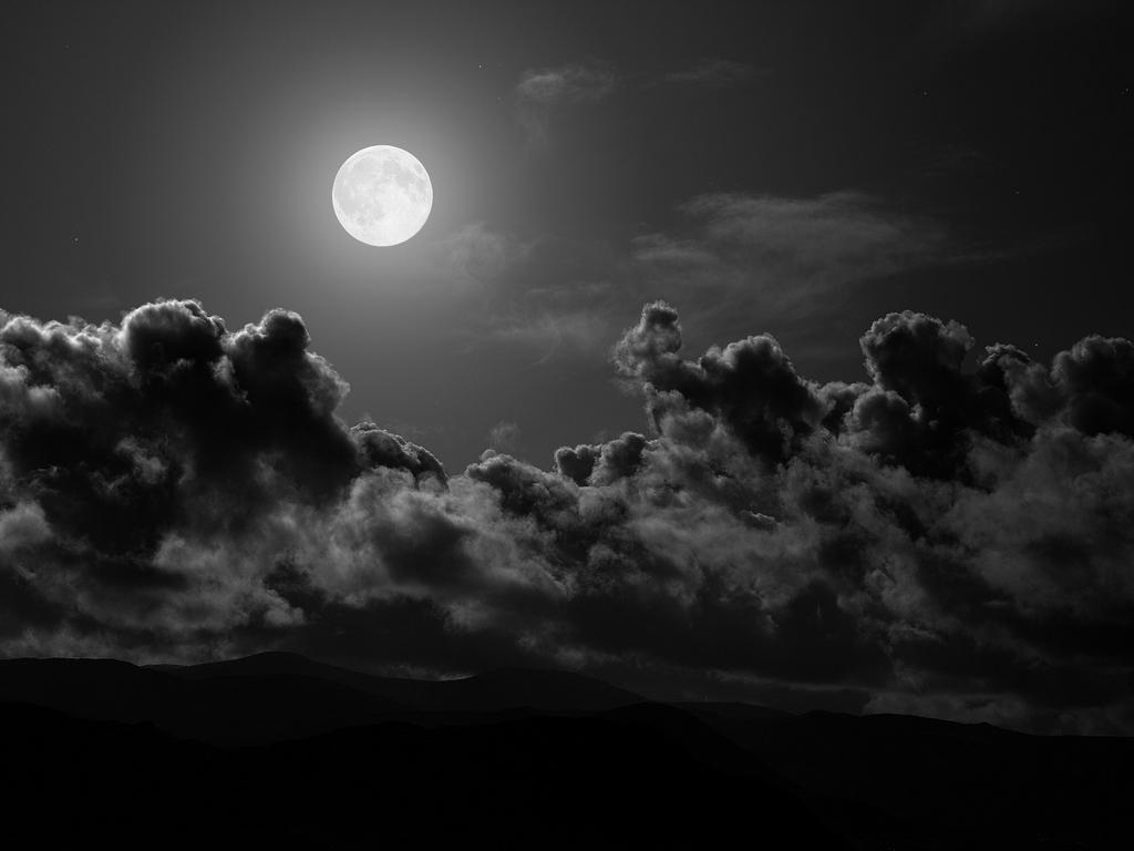 La luna que es esa viva