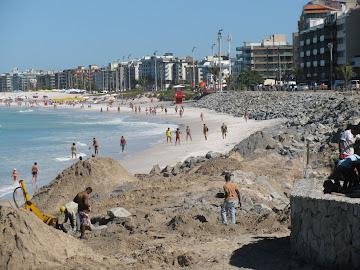Praia do Forte em Cabo Frio - 04/07/2010