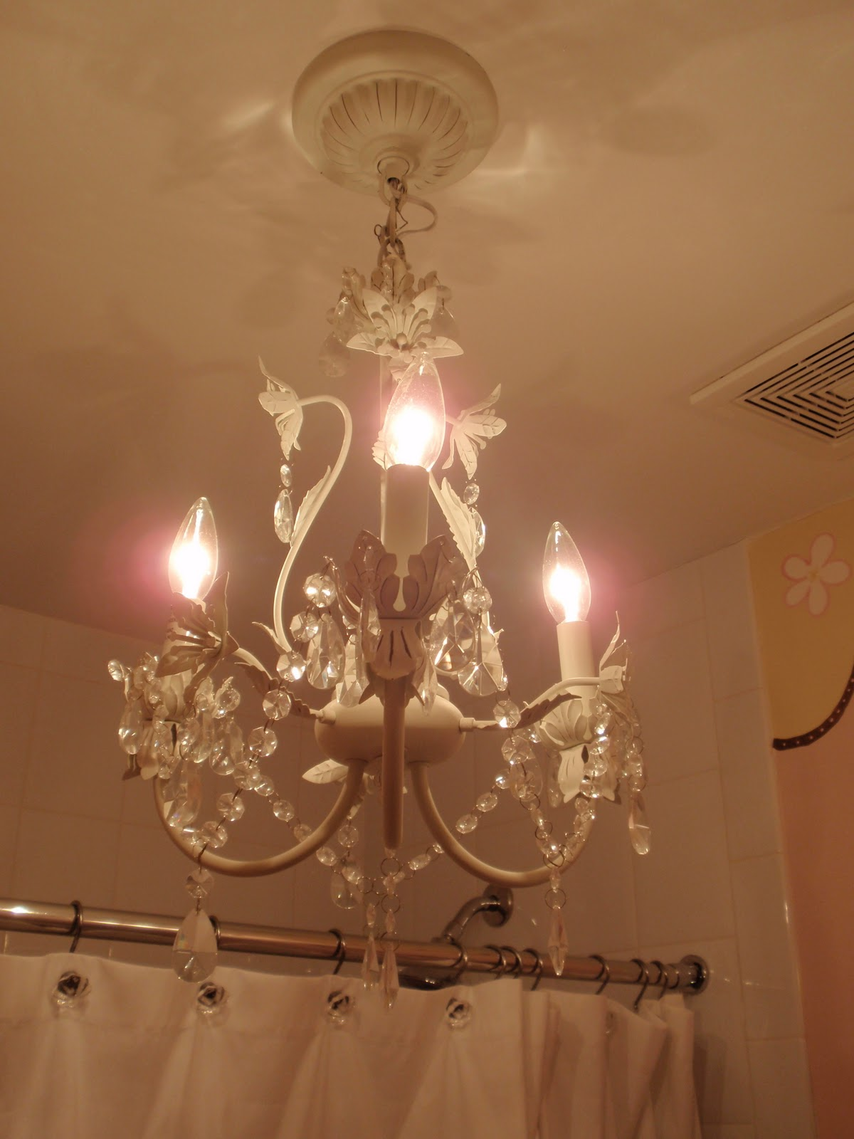 DIY by Design I have a thing for chandeliers